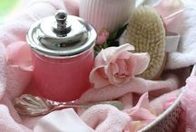 ~ Pour Le Bain ~ / Pretty bath essentials for the lady...