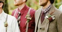 ☂ Autumn Weddings ☂ / There's a crisp chill in the air as the leaves turn deep shades of auburn and orange. Autumn weddings are full of colour and life and the receptions offer ideal opportunities to snuggle with your partner against the cold. Find inspiration and ideas for your autumnal wedding.
