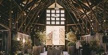 Barn Weddings / Barn weddings are the best of both worlds: combining rustic haybales and apple crates with dainty lace and fairy lights. Find inspiration and ideas for this trendy look on our board.