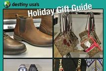 Holiday Gifts for 2015 / We have some great gift options for your family and friends at Destiny USA this season!