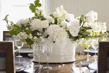~ Rooms with Blooms ~ / The art of using florals in interior design...The French say it well with flowers as they add beauty and warmth thus creating a space reflecting one's personality.