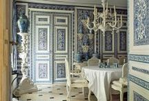 Color Love * Blue and White / my favorite