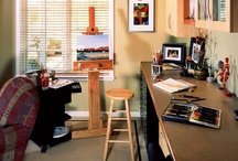 Craft Rooms - Design Ideas / Crafts rooms, studios, design & organization / by Parrish Built