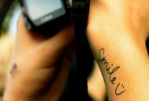 Tattoo / by Virginia Takessian Vener