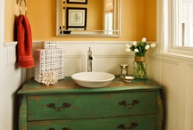 Bathrooms- Powder Rooms / by Parrish Built