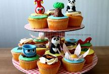 Efteling taarten / Je verjaardag Eftelings maken, doe je natuurlijk door het te vieren met een heerlijke Efteling taart!