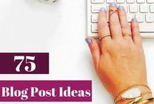 Blog | Inspiration / Inspiration for blogging: Prompts, idea generation, writing tips & general ways to overcome writers' block.