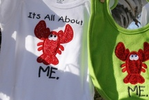 It's All About ME (Maine) for Kids / Whimsical embroidered items for infants and toddlers.