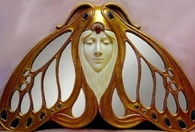 Art Nouveau/Art Deco / Two of my favorite periods of Art / by Regina Williams