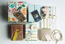 Cards, tags and wrapping