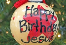 Ceramic Christmas Tree Ornaments / Amazing Hand Painted (in the USA) Christmas Ornaments.  #christiangifts