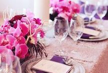 RADIANT ORCHID / Florals + Events inspired by Pantone's Color of the Year, Radiant Orchid