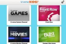 Entertaining You / There's interactive fun for everyone with U-verse.  Check out all the entertainment and apps available to you.