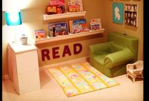 Cozy up to Reading! / creating cozy spaces to inspire reading
