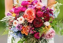 Bruiloft • bloemen / Bloemen voor de bruiloft