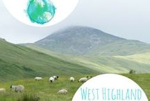 West Highland Way / Information about the famous hiking trail: West Highland Way in Scotland