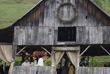 Farm wedding / We pinned things we found that we think would look great at an White Fence Farm event.