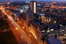 Manchester / Manchester, UK...the home of the Smiths, Manchester United, Coronation Street, Chetham's school of music, some excellent bands (and some not so), Boddington's beer, industrial mills, shopping complexes, stately homes, Vimto and me!