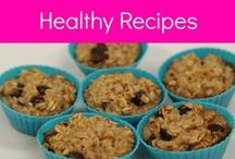 Healthy Eating Recipes / Recipes that not only taste good but are good for you!