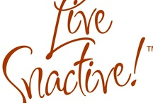 Live Snactive™ / Healthy Attitude + Active Lifestyle + Nutritious Snacks = Living Snactive™ We invite our fans to share how they are living snactive!