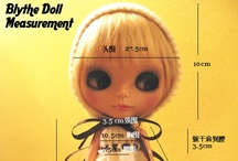 Blythe sewing stuff / Sewing patterns and ideas for Blythe. 