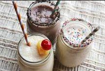 Recepten voor smoothies & milkshakes / Lekkere recepten voor smoothies en milkshakes Gezond en ongezond