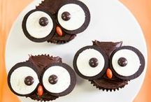 Tricks & Treats {Halloween DIY Recipes} / Baking & decorating for Halloween can be FUN & easy!