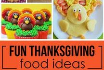 Fun Thanksgiving Food Ideas & Recipes / Everything you need for a festive and scrumptious Fall & Thanksgiving meal