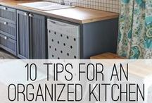 Decore & Organize Your Kitchen Space / Our design inspiration and organizational goals for our kitchen space!