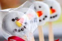 Winter Holiday Recipes & Ideas / Snowflakes, snowmen & red nose reinders, we have all your decorating and recipe ideas for the winter Holiday season!