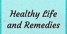 Healthy Life and Remedies / Tips for healthy living. Favourite natural remedies and alternatives. Healthy lifestyle choices and changes. Tips for living a natural and healthier life. Simple changes to make towards a healthier lifestyle. One small change at a time.