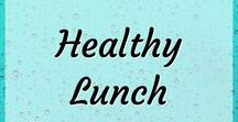 Healthy Lunch / Healthy lunch and snack ideas. Lunch prep for easy and healthy lunches.
