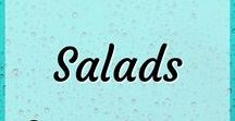Salads - I Heart Lettuce! / Salad inspiration for salad lovers. From kale to quinoa, chickpea and black bean, romaine to iceberg and more. Healthy salads. Healthy dinner. Healthy meals. Delicious and nutritious. Easy and simple meals. Different types of salads. For the love of lettuce!