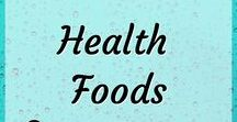 Health and Health Foods / Healthy lifestyle changes. Healthy lifestyle tips. How to live a healthier life. Simple health changes. Healthy diet. Health foods, aka super foods. Healthy food that is simply good for you. Nutrient rich and complete foods.