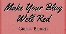 Make Your Blog Well Red - Group Board - Blogging, Digital Marketing and Online Entrepreneur Stuff / All about blogging, freelancing, digital marketing, website design, affiliate marketing, social media marketing, work from home, Facebook and Pinterest tips and more! Quality, relevant, vertical pins please. Email info@wellred.ca to join! Re-Pin from the board, please and thanks! Pin from the board when you pin to it :-) www.wellred.ca