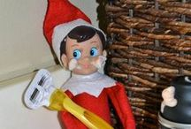Elf on a shelf / by Pam Gannon