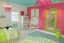 girly bedrooms / by Melanie Huston