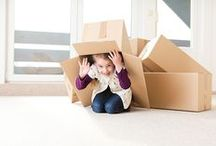 Moving Tips / Clever ways to make moving a little bit easier.