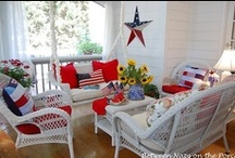 4th of July Porches / by Between Naps On the Porch