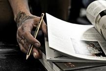 "CITY OF INKS / ""Don't think it, ink it."" Mark Victor Hansen  / by Nicolas Kern de Fraiteur"