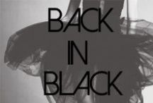 Back in Black / by James Jeans