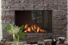 Fireplace Designs / by Joanne Brockmann