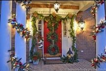 BNOTP: Christmas Decorating Ideas / Holiday and Christmas decorating ideas from the blog, Between Naps on the Porch