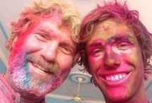 "Holi ""Basanta Utsav"" India / Holi is the festival of colors and the festival of love.  Some of these images are from Pete and Caleb Erskine's travels in 2014, with additional repins from pinterest contributors! / by Mexicali Blues"