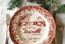 Friends of BNOTP: Christmas Tablescapes / This board is dedicated to the friends of Between Naps on the Porch who love everything about setting a beautiful table for Christmas. Please pin no more than 2 pics of  each table for us to enjoy! Only family friendly posts about Christmas tablescapes and centerpiece ideas please!