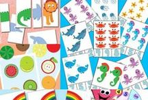 Toddler & Preschool Learning / Ideas to help my kids learn at home.