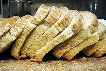Food: Bread & Grains / Loaves, rolls, biscuits, pretzels, etc. / by Jessica Talstein