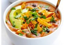 Comfort foods / Food that makes you feel warm inside and makes you feel better. Nostalgic food.