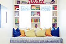 Wall art and bookshelves / by Chris Olson