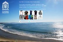 Swami's Beach / Swami's Beach is a famous surf beach located in Encinitas, California. We also own a lifestyle brand:  Swami's Beach Collective (Encinitas, CA - designs by Sharon DeCaro), which was inspired by this amazing location.